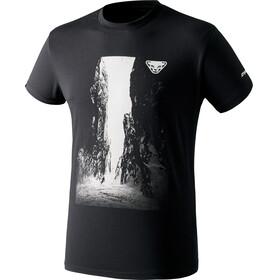 Dynafit First Track Co Tee t-shirt Heren zwart